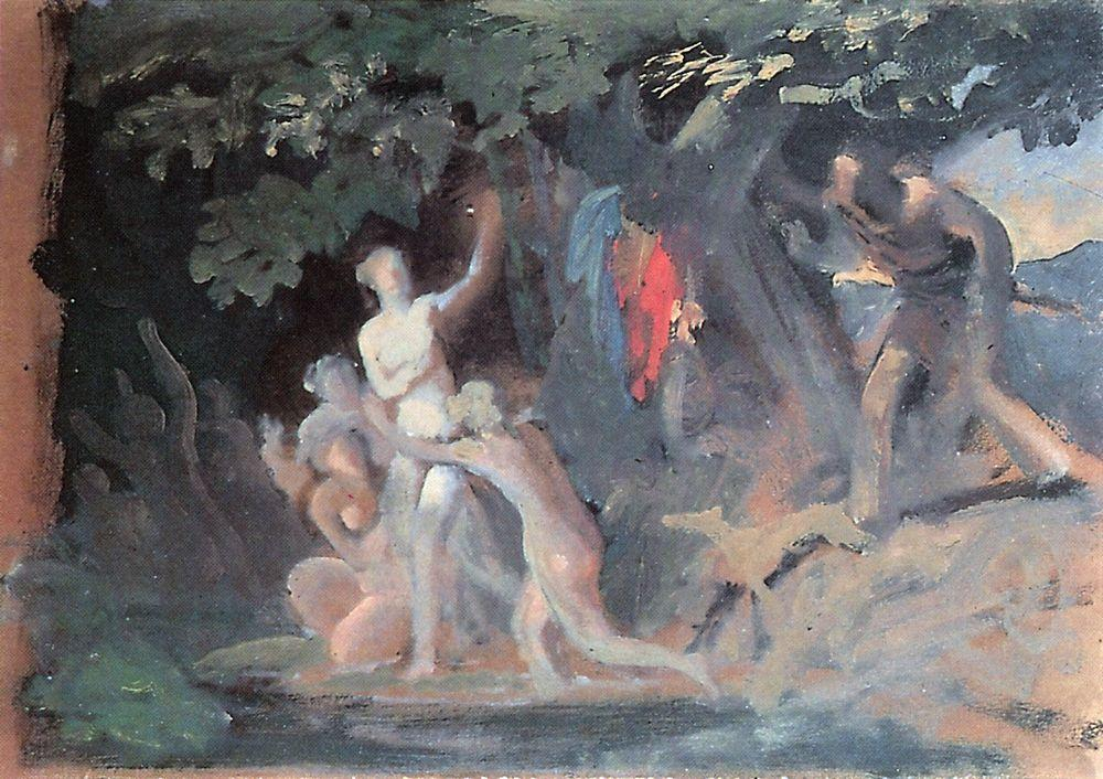 Hylas and the Nymphs, 1827