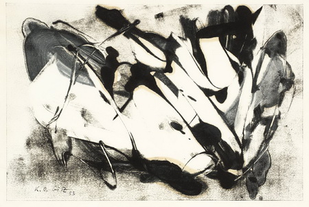 Untitled, 1953 - Karl Otto Gotz