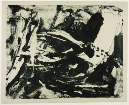 Untitled, 1954 - Karl Otto Götz