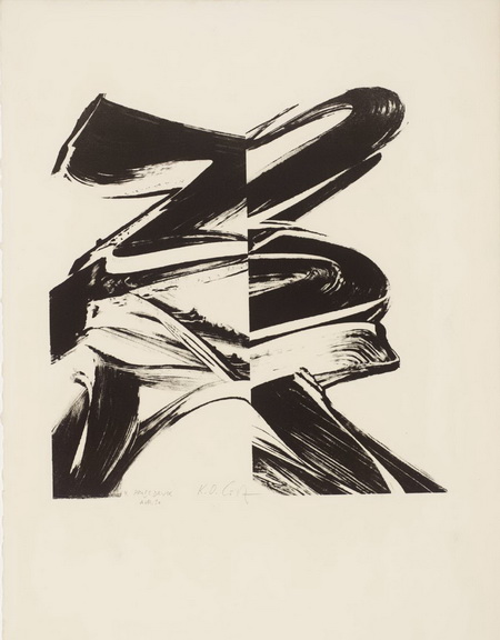 Untitled (From a Laugh without Mouth), 1966 - Karl Otto Götz