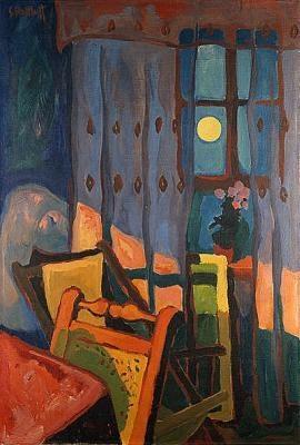 Evening in the Room, 1935 - Karl Schmidt-Rottluff
