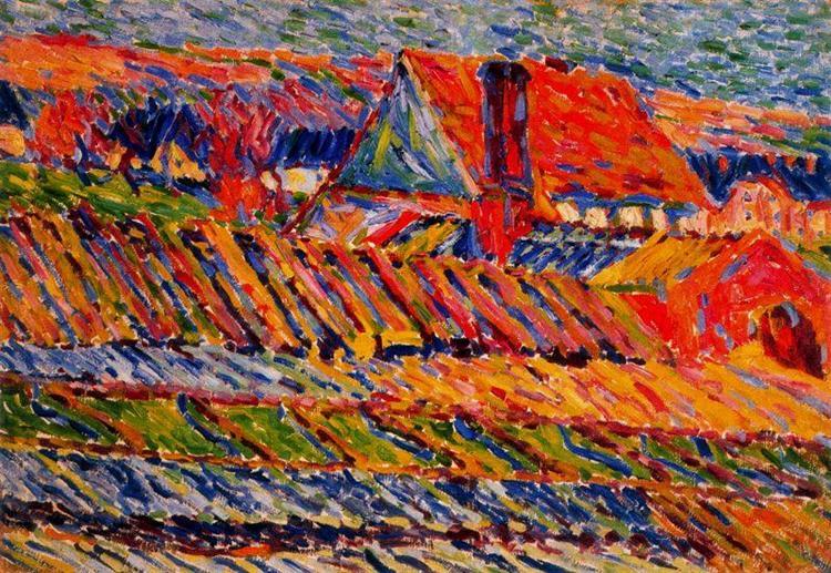 Gardening, 1906 - Karl Schmidt-Rottluff