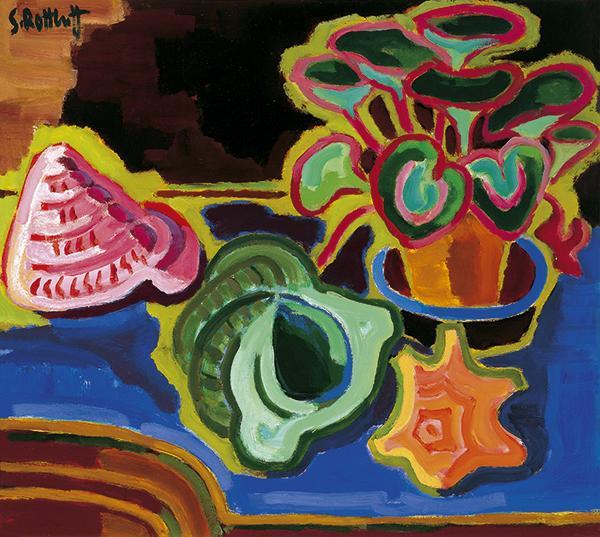 Sea Snails, 1953 - Karl Schmidt-Rottluff