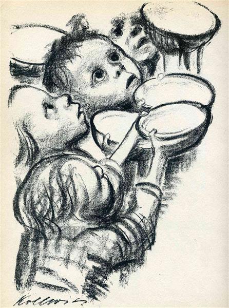 Germany's children starve!, 1924 - Kathe Kollwitz