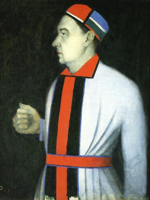 Portrait of Man, 1933 - Kazimir Malevich - WikiArt.org
