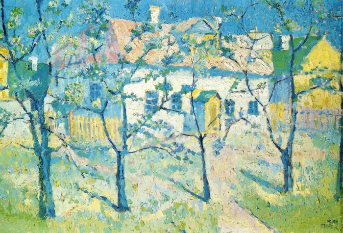 Spring Garden in Blossom - Kazimir Malevich