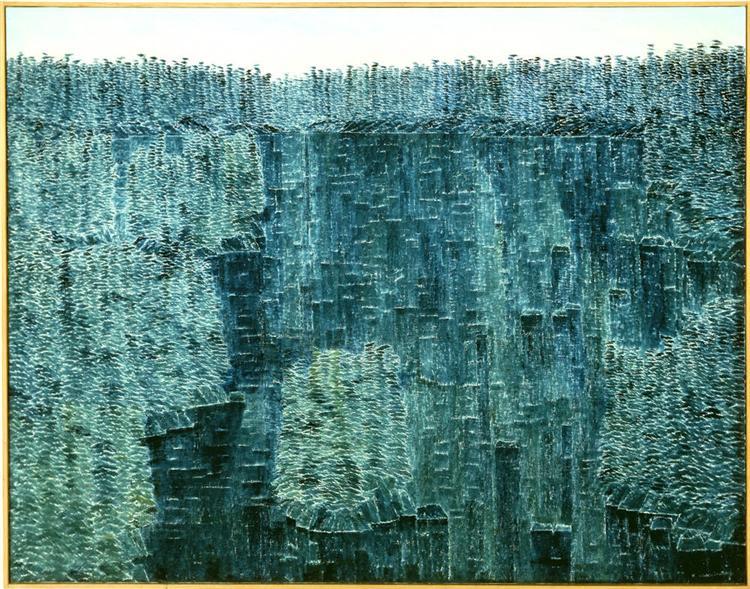 Blue Reflections, 1963 - Kazuo Nakamura