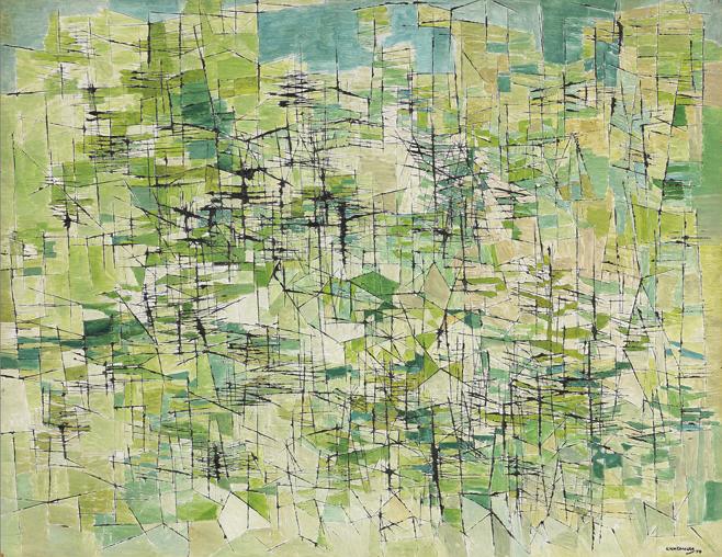 Hillside, 1954 - Kazuo Nakamura
