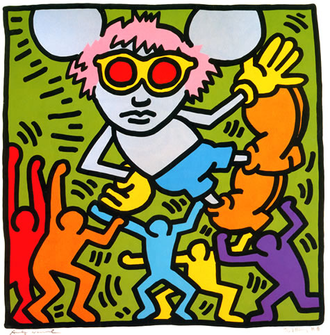 Andy Mouse - Keith Haring