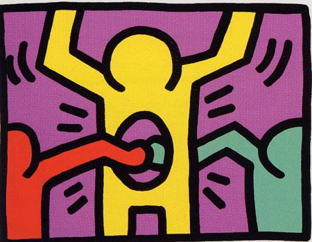 Pop Shop 1, 1987 - Keith Haring