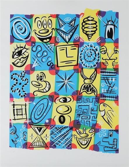 Check fest, 1998 - Kenny Scharf