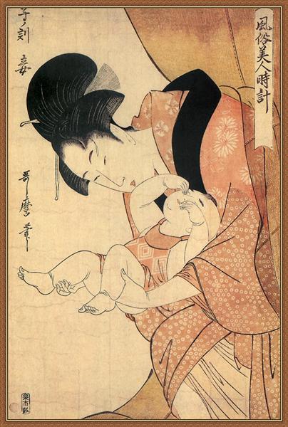 Midnight The Hour Of The Rat - Kitagawa Utamaro