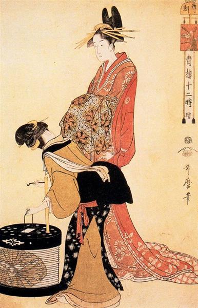 The Hour of the Dog - Kitagawa Utamaro