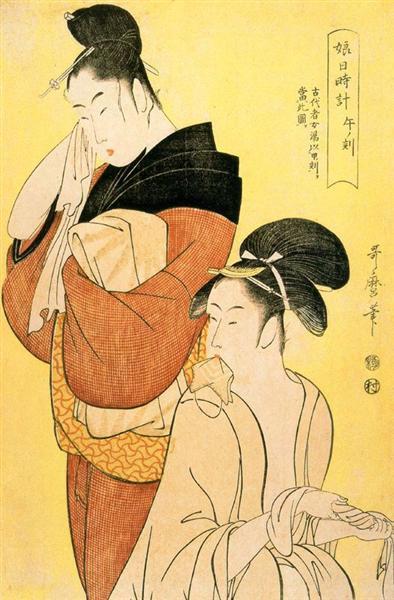 The Hour of the Oxx - Kitagawa Utamaro