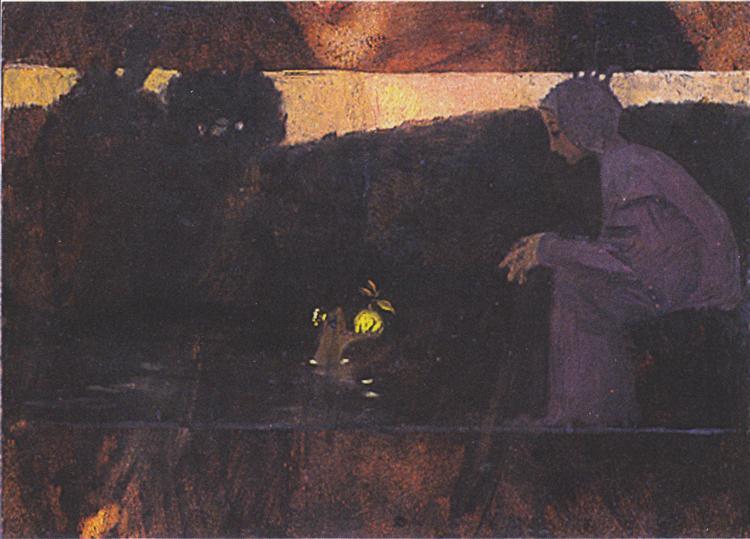 The Frog King, c.1895 - Koloman Moser