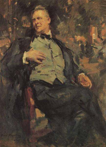 Portrait ofChaliapin - Konstantin Korovin