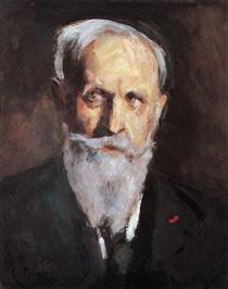 Self-portrait - Konstantin Alexejewitsch Korowin