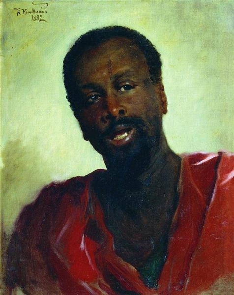 African, 1882 - Konstantin Makovsky