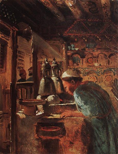 Cairo, c.1870 - Konstantin Makovsky