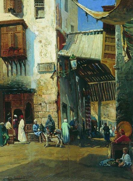 Cairo, c.1880 - Konstantin Makovsky