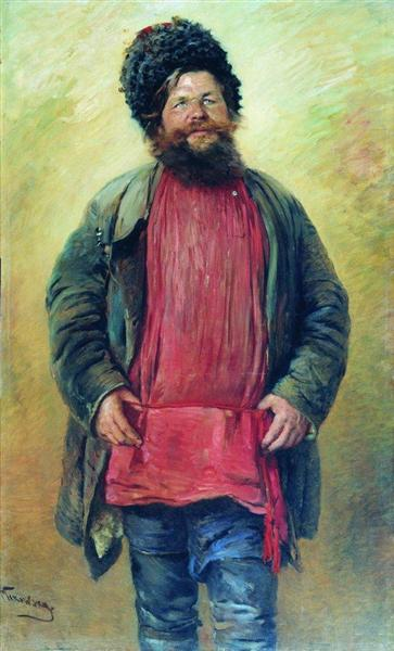 Cossack, 1875 - Konstantin Makovsky