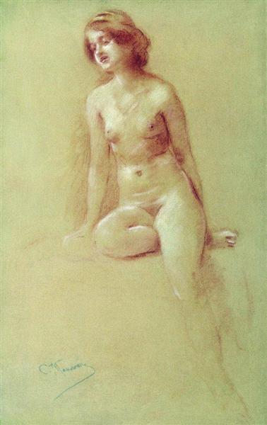 Model - Konstantin Makovsky