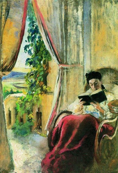 Reading - Konstantin Makovsky
