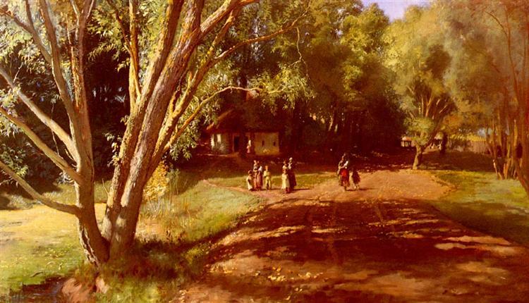 Summer Afternoon - Konstantin Makovsky