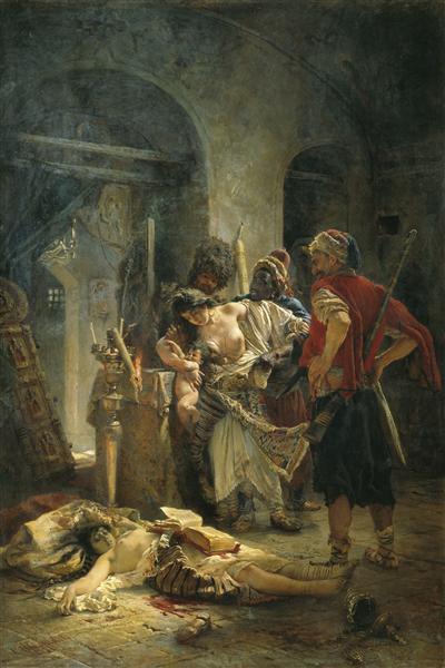 The Bulgarian Martyresses, 1877 - Konstantin Makovsky