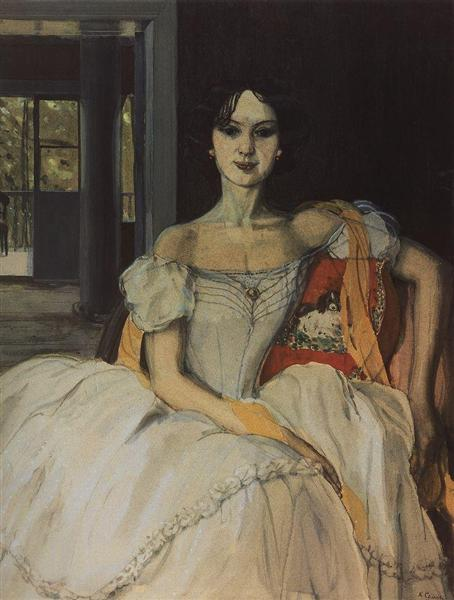 Echo of Bygone Days, 1903 - Konstantin Somov