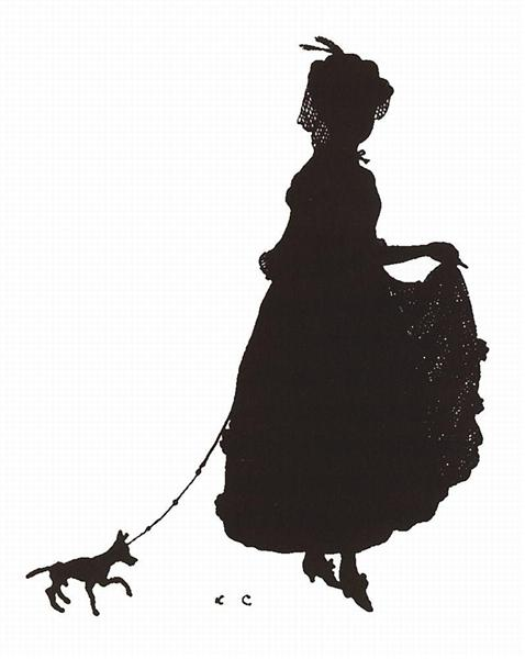 Lady with the Dog, 1906 - Konstantin Somov