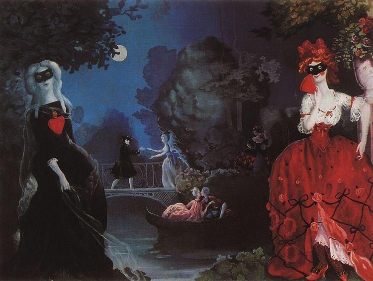 Masquerade - Konstantin Somov