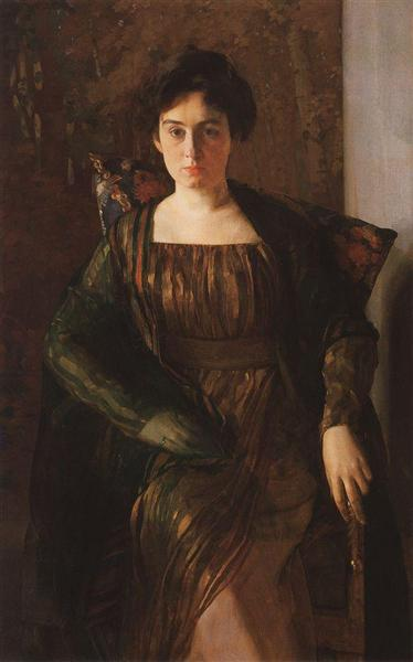 Portrait of G. Hirschman, 1910 - 1911 - Konstantin Somov