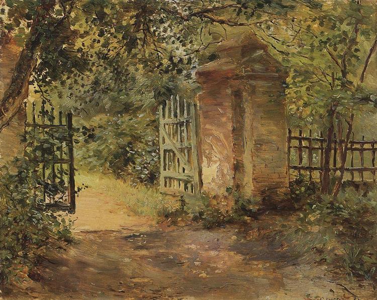 The Road to Sekerin, 1893 - Konstantin Somov