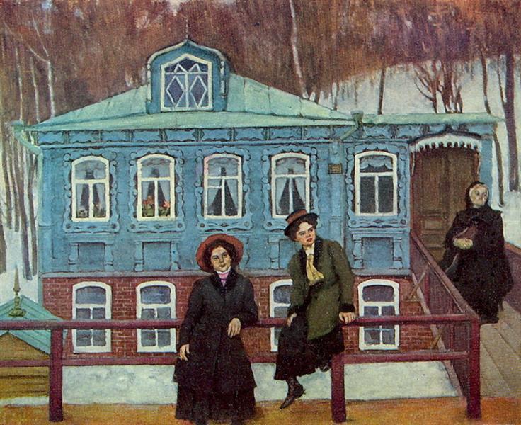 The Provincials, 1920 - Konstantin Yuon