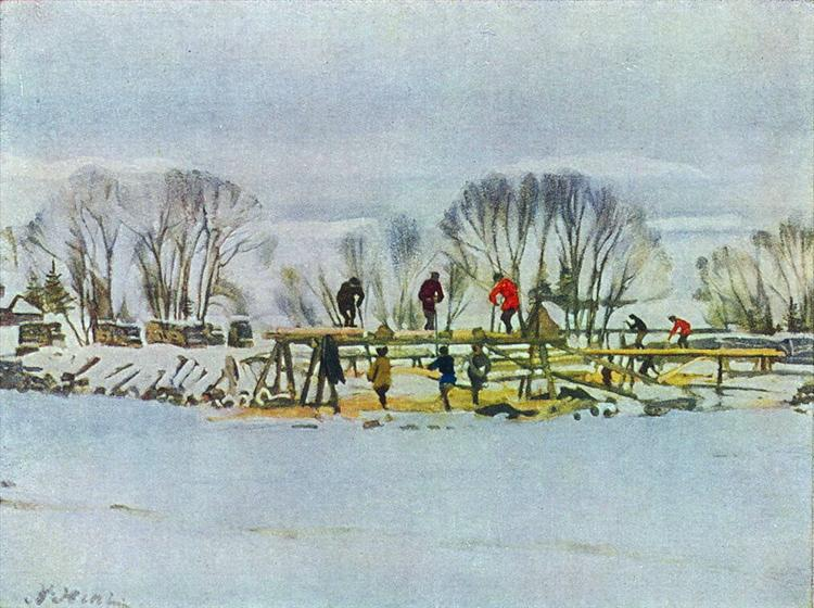 The Sawyers - Konstantin Yuon