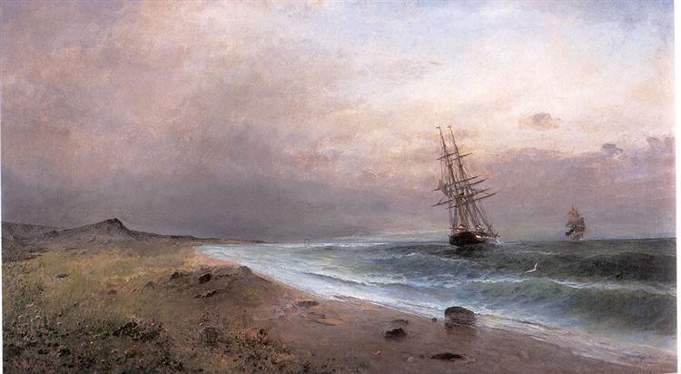 Sailing ships - Konstantinos Volanakis