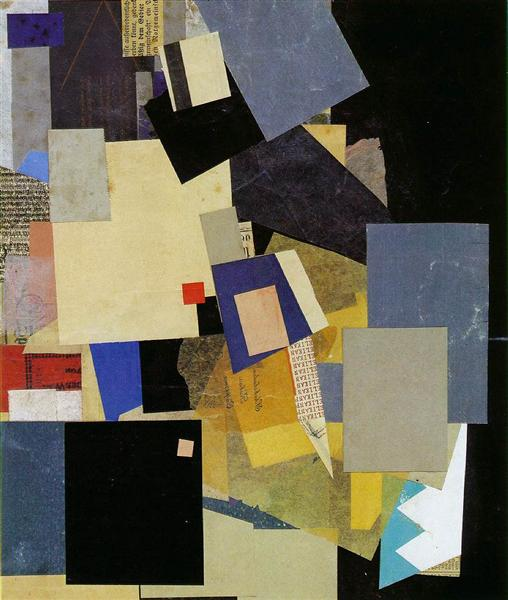 (Elikan), c.1925 - Kurt Schwitters