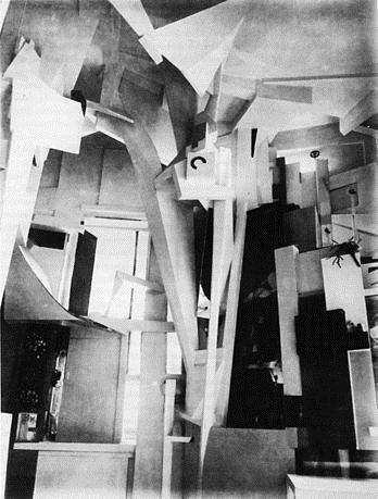 Merzbau, 1923 - 1937 - Kurt Schwitters