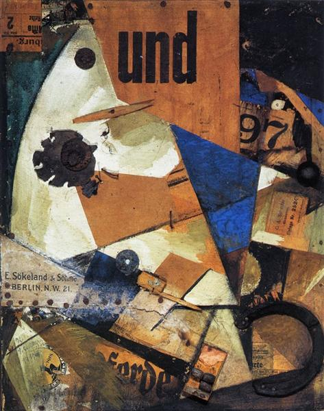 The And-Picture, 1919 - Курт Швиттерс
