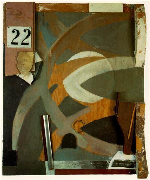 The Spring Door, 1938 - Kurt Schwitters