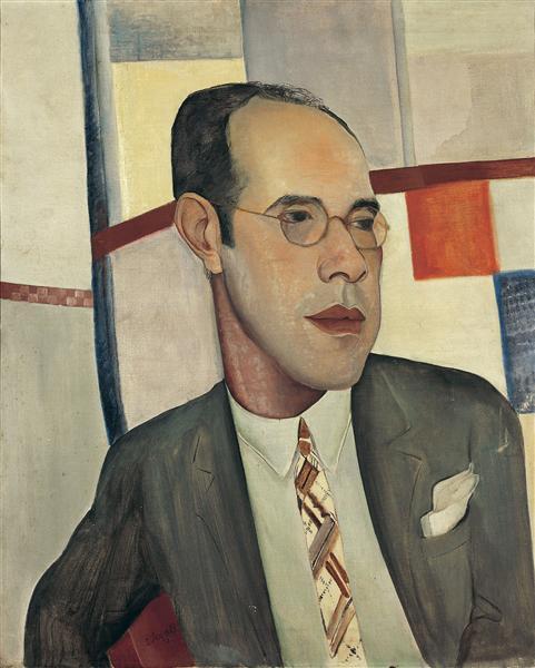 Retrato de Mario de Andrade, 1927 - Lasar Segall