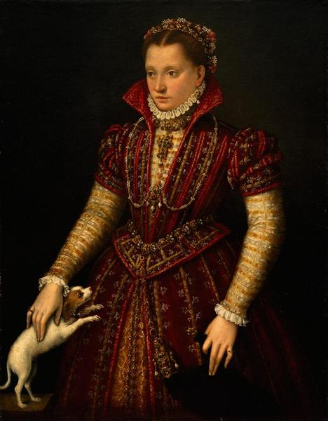 Portrait of a Noblewoman, 1580 - Lavinia Fontana