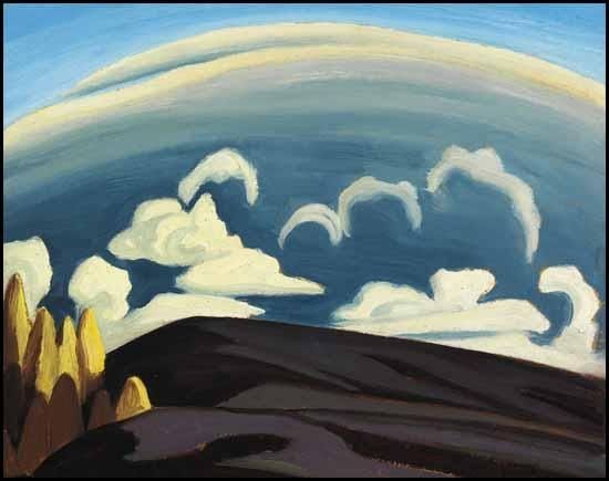 Aftermath of Storm - Lake Superior Sketch XXXIV, 1926 - Lawren Harris