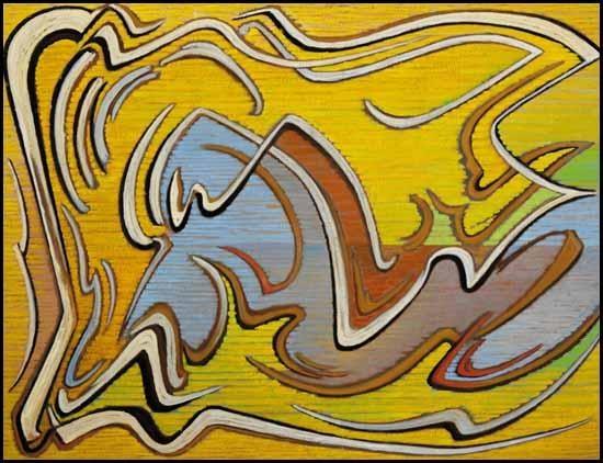 Calligraph Forming, 1958 - Lawren Harris