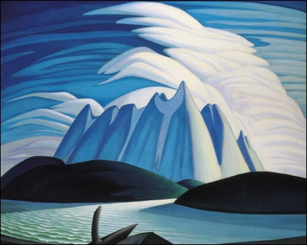 Lake and Mountains, 1928 - Lawren Harris