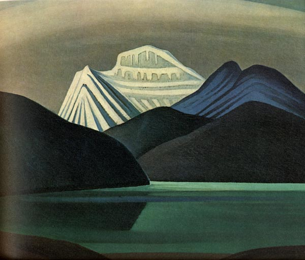 Mountains and Lake, 1929 - Lawren Harris