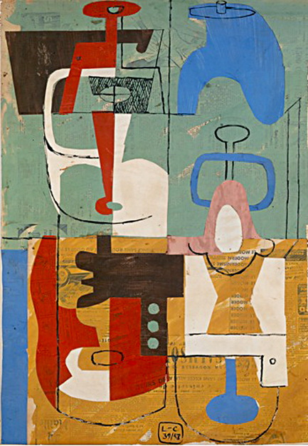 still life le corbusier encyclopedia of visual arts. Black Bedroom Furniture Sets. Home Design Ideas
