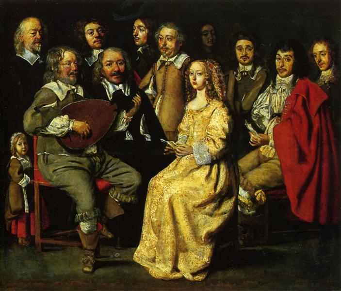 The Musical Meeting, 1642 - Le Nain (Irmãos Le Nain)