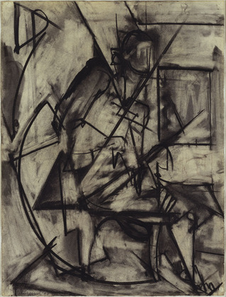 Seated Nude, 1940 - Lee Krasner